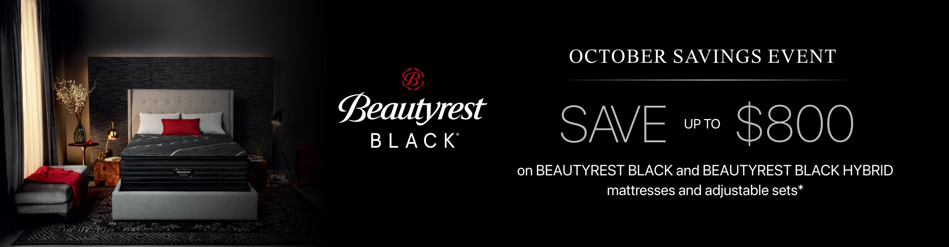 beautyrest black mattresses on sale for fall