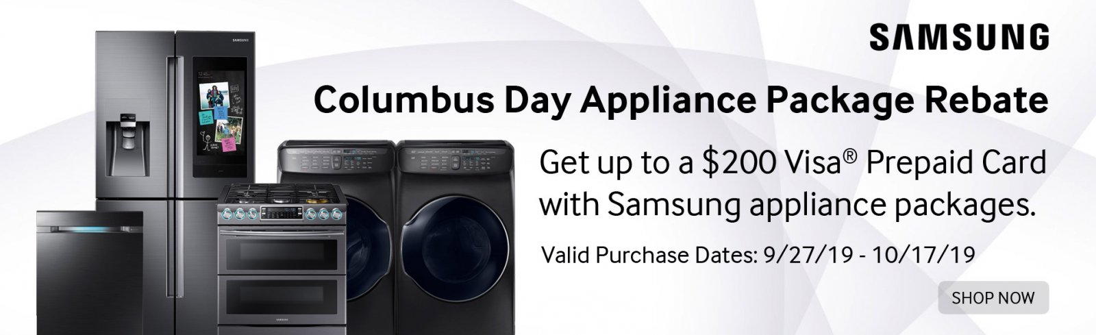 Samsung Columbus Day Event